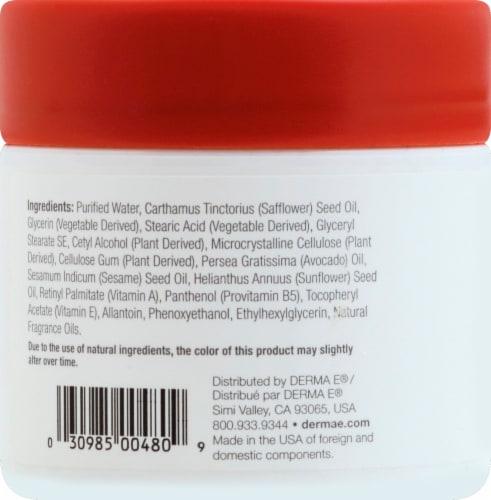 Derma-E Vitamin A Retinyl Palmitate Anti-Wrinkle Renewal Cream Perspective: left