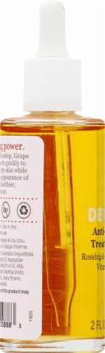 Derma-E Anti-Wrinkle Treatment Oil with Vitamin A & E Perspective: left