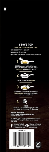 P.F. Chang's Home Menu Chicken Lo Mein Skillet Meal Perspective: left