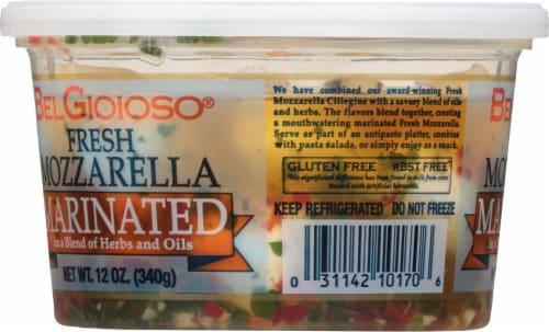 BelGioioso Marinated Fresh Mozzarella 23 Count Perspective: left