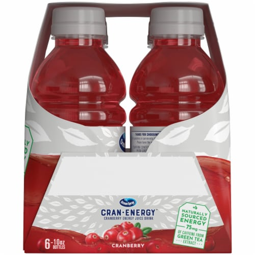 Ocean Spray Cran-Energy Cranberry Energy Juice Drink Perspective: left