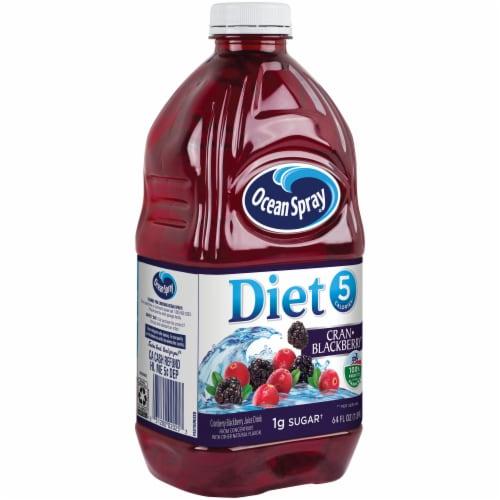 Ocean Spray Diet Cran-Blackberry Juice Drink Perspective: left