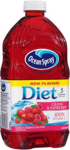 Ocean Spray Diet Cran-Raspberry Juice Drink Perspective: left
