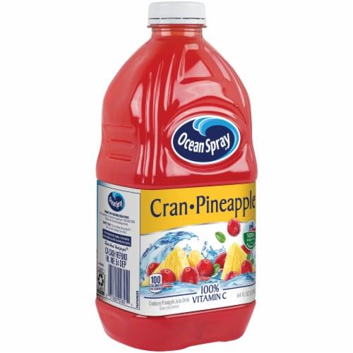 Ocean Spray Cran-Pineapple Juice Perspective: left