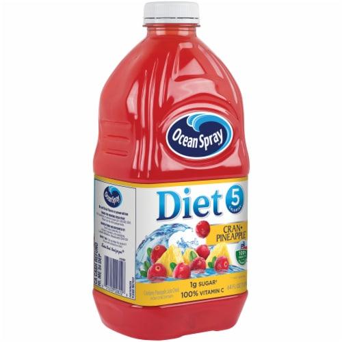 Ocean Spray Diet Cran-Pineapple Juice Drink Perspective: left