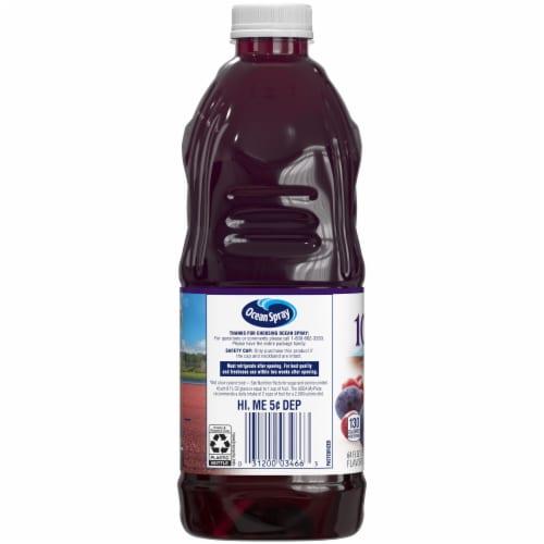 Ocean Spray Cranberry Concord Grape Juice Perspective: left