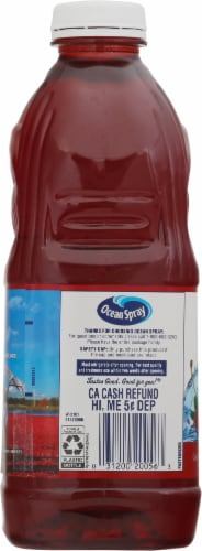 Ocean Spray Diet Cran-Cherry Juice Drink Perspective: left