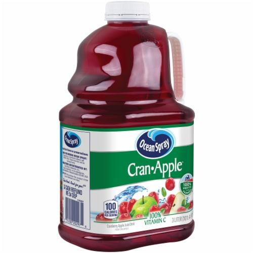 Ocean Spray Cran-Apple Juice Perspective: left