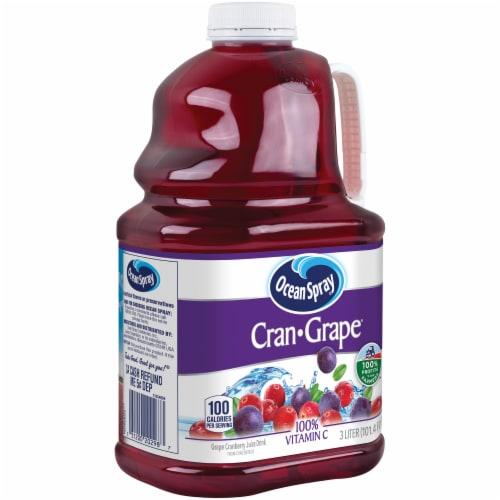 Ocean Spray Cran-Grape Juice Drink Perspective: left