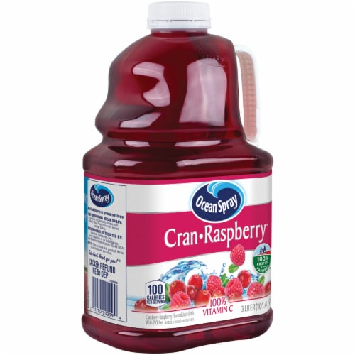 Ocean Spray Cran-Raspberry Juice Drink Perspective: left