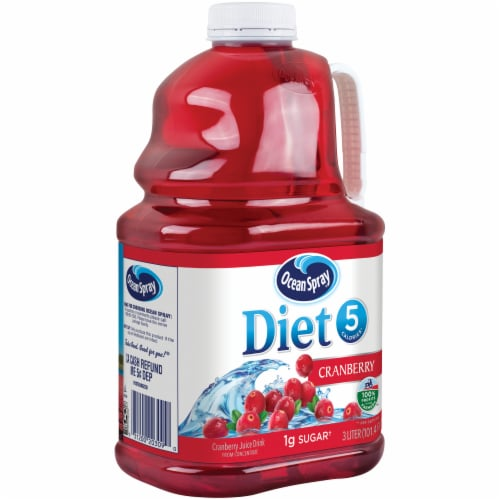 Ocean Spray Diet Cranberry Juice Perspective: left