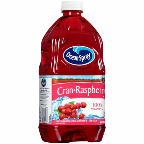 Ocean Spray Cran-Raspberry Juice Drink Perspective: left