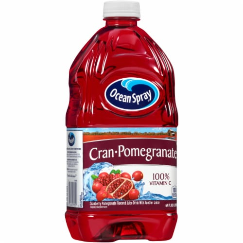 Ocean Spray Cran-Pomegranate Flavored Juice Drink Perspective: left