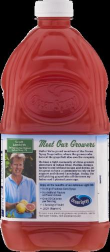 Ocean Spray Light 50 Ruby Red Grapefruit Juice Drink Perspective: left