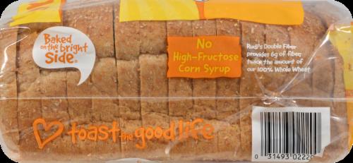 Rudi's Organic Bakery Organic Double Fiber Bread Perspective: left