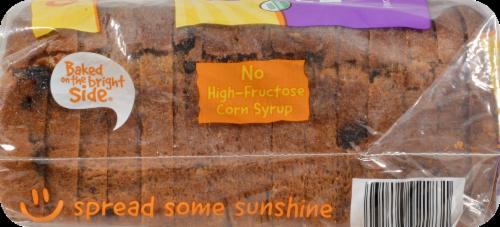 Rudi's Organic Bakery® Organic Cinnamon Raisin Bread Perspective: left