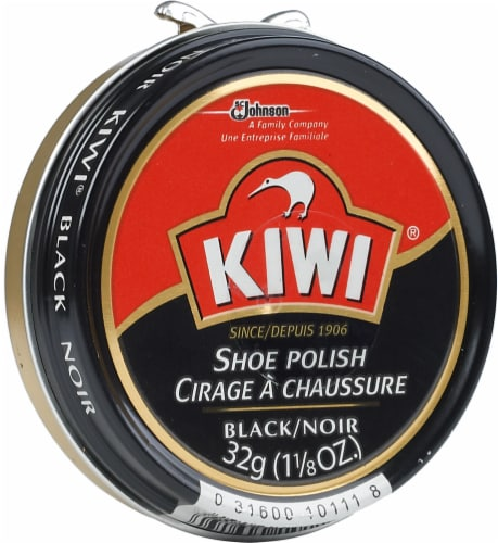 Kiwi® Shoe Polish Paste - Black Perspective: left