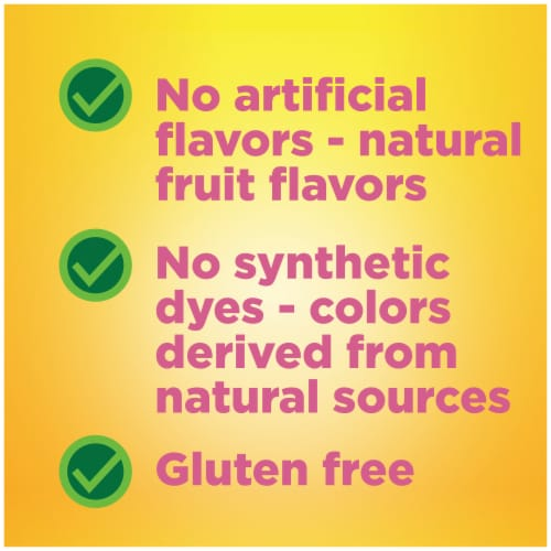 Nature Made Kids First Fiber Assorted Fruit Flavor Gummies Perspective: left