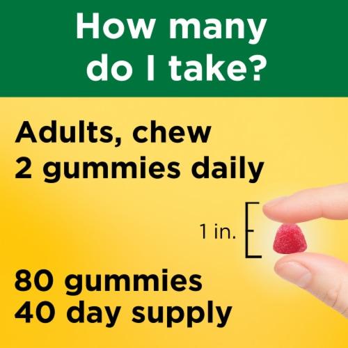 Nature Made® Strawberry Lemon & Orange Multi + Omega-3 Gummies Perspective: left