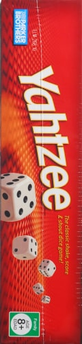 Hasbro Yahtzee Game Perspective: left