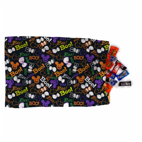 Jay Franco Mickey and Minnie Mouse Trick or Treat Pillowcase Perspective: left