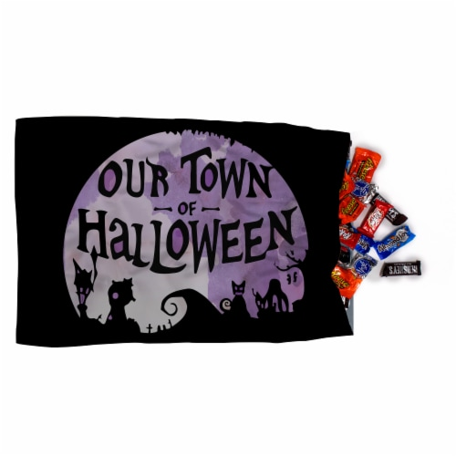 Jay Franco Nightmare Before Christmas Trick or Treat Pillowcase Perspective: left