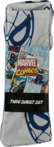 Marvel Spiderman Twin Sheet Set Perspective: left