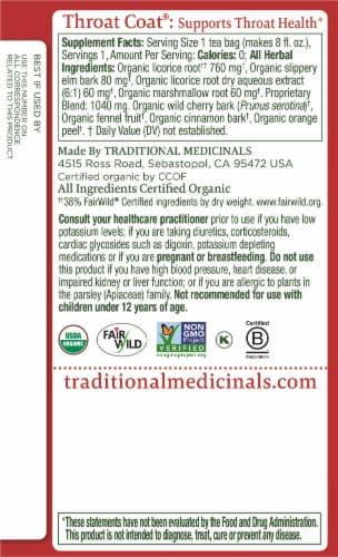 Traditional Medicinals Seasonal Sampler Tea Bags Perspective: left