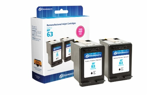 Dataproducts Remanufactured Inkjet Cartridges for HP 63 - Black Perspective: left