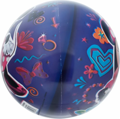 Ball Bounce and Sport Inc. Minnie Mouse Ball Perspective: left