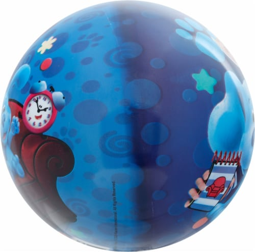 Ball Bounce and Sport Inc. Blue's Clues Ball Perspective: left