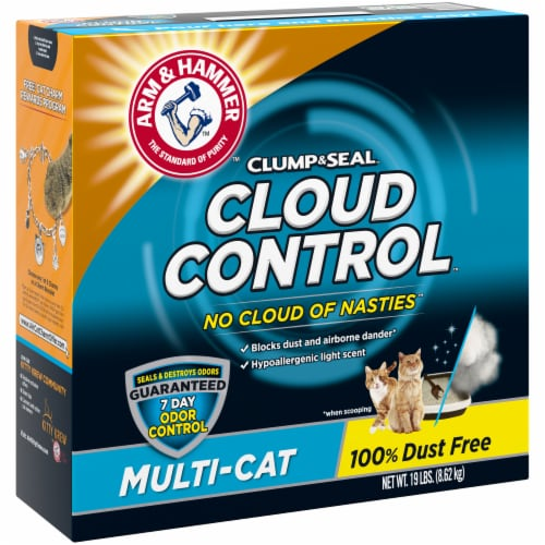 Arm & Hammer Cloud Control Multi-Cat Litter Perspective: left