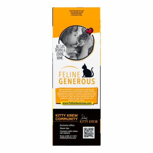 Arm & Hammer™ Clump & Seal AbsorbX Multi-Cat Litter Perspective: left