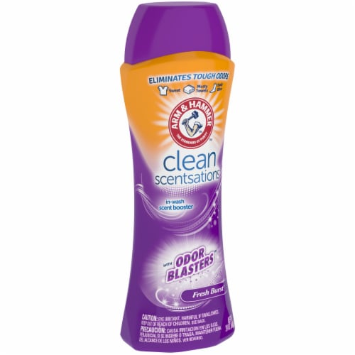 Arm & Hammer Clean Scentsations Fresh Burst In-Wash Scent Booster Perspective: left