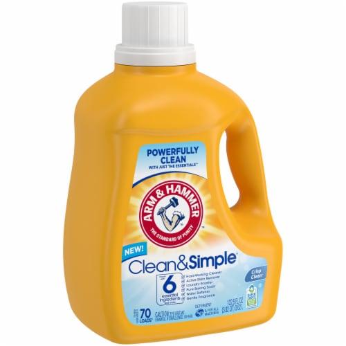 Arm & Hammer Crisp & Clean Clean & Simple Laundry Detergent Perspective: left