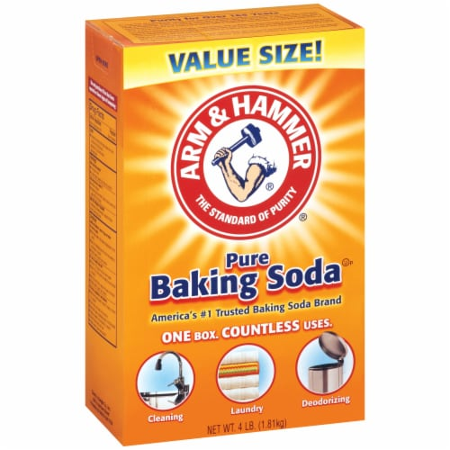 Arm & Hammer Pure Baking Soda Perspective: left