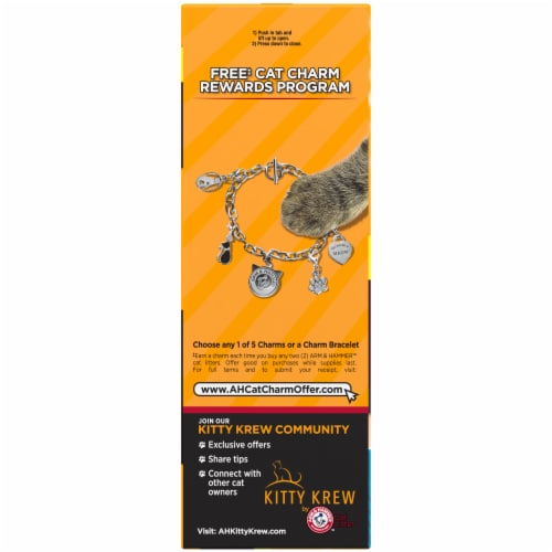 Arm & Hammer Multi-Cat Extra Strength Clumping Cat Litter Perspective: left