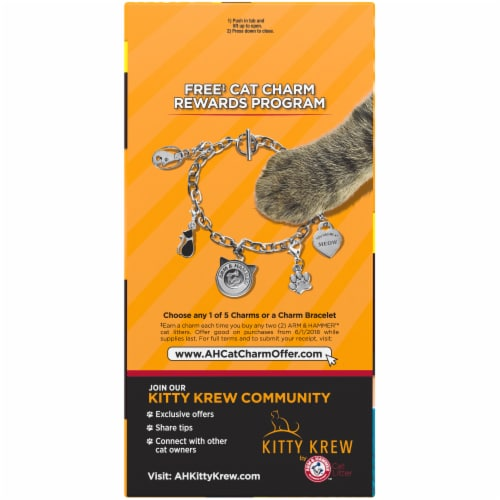 Arm & Hammer Multi-Cat Clumping Litter Perspective: left