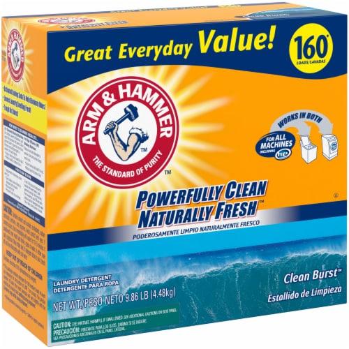 Arm & Hammer Clean Burst Laundry Detergent Perspective: left