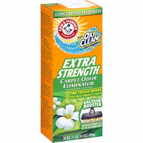 Arm & Hammer Plus OxiClean Extra Strength Carpet Odor Eliminator Perspective: left