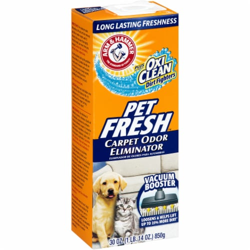 Arm & Hammer Pet Fresh Carpet Odor Eliminator Perspective: left