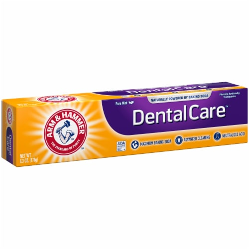 Arm & Hammer DentalCare Pure Mint Toothpaste Perspective: left