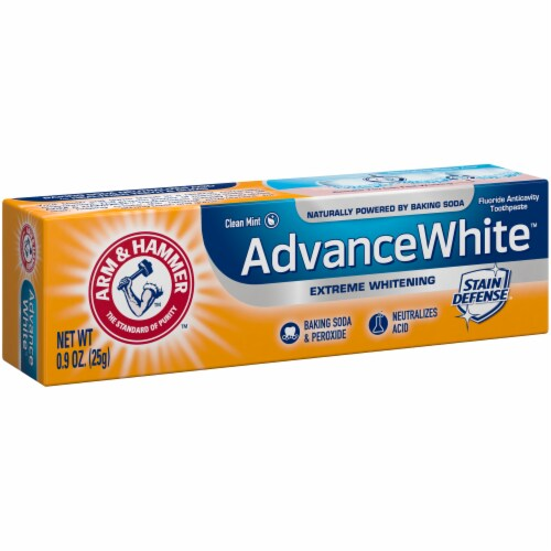 Arm & Hammer Advance White Clean Mint Toothpaste Perspective: left