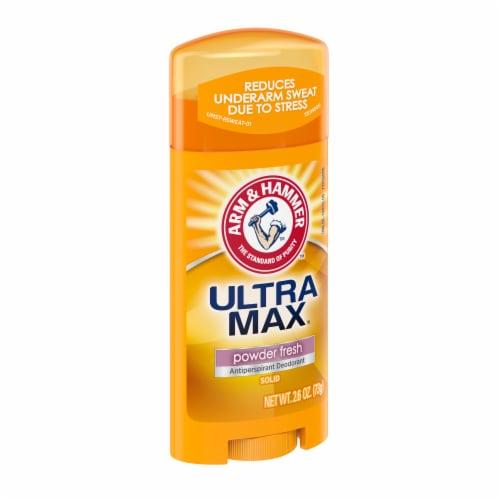 Arm & Hammer Ultra Max Powder Fresh Antiperspirant Deodorant Perspective: left