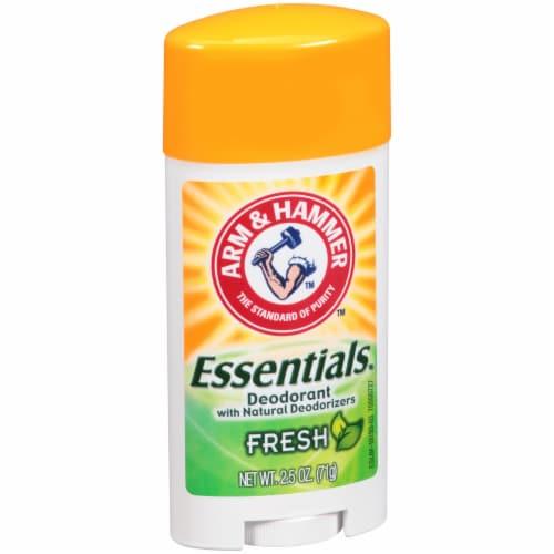 Arm & Hammer Essentials Fresh Deodorant Perspective: left