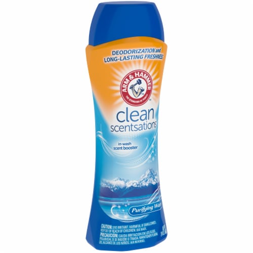 Arm & Hammer Clean Scentsations Purifying Waters In-Wash Scent Booster Perspective: left