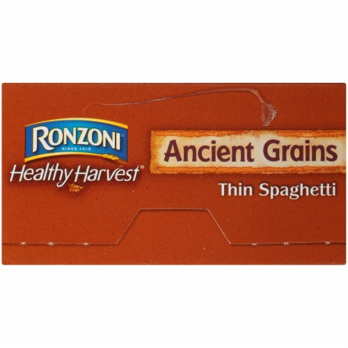 Ronzoni Healthy Harvest Ancient Grains Thin Spaghetti Perspective: left