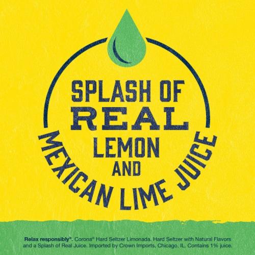 Corona® Limonada Hard Seltzer Variety Pack Perspective: left