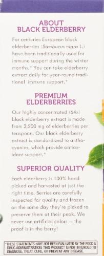 Nature's Way Sugar Free Sambucus Elderberry Syrup Perspective: left