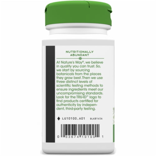 Nature's Way Alfalfa Leaves Capsules Perspective: left